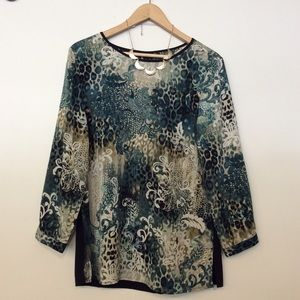 Chico's Tops - NWT Chico's Quarter Sleeve Top